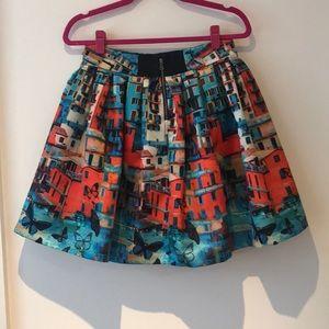 6f25b08a7b3b Alice + Olivia Skirts - Alice + Olivia Butterfly Paradise Venetian Skirt 6